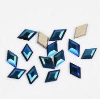 Фигурные стразы стекло ROUMB Blue 50шт. (3х5мм)