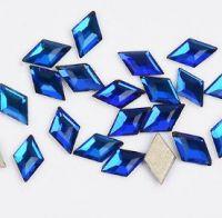 Фигурные стразы стекло ROUMB Light Blue 50шт. (3х5мм)