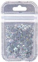 SGS-002 Стразы разноразмерные стекло AB