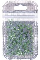 SGS-012 Стразы разноразмерные стекло Light Green