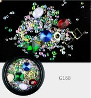 Украшения MIX в баночке Gems