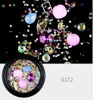 Украшения MIX в баночке Pink quartz