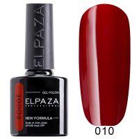 №010 Гель-лак ELPAZA Rouge 10мл.