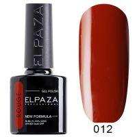 №012 Гель-лак ELPAZA Rouge 10мл.