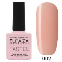 №002 Гель-лак ELPAZA Pastel 10мл.