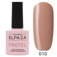 №010 Гель-лак ELPAZA Pastel 10мл.