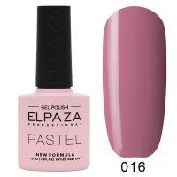 №016 Гель-лак ELPAZA Pastel 10мл.