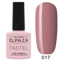 №017 Гель-лак ELPAZA Pastel 10мл.