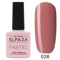 №026 Гель-лак ELPAZA Pastel 10мл.