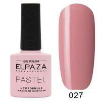 №027 Гель-лак ELPAZA Pastel 10мл.