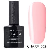 №002 Гель-лак ELPAZA CHARM Балерина 10мл.