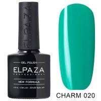 №020 Гель-лак ELPAZA CHARM Карибы 10мл.