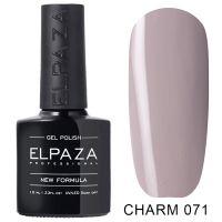 №071 Гель-лак ELPAZA CHARM Скромное платье 10мл.