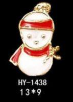 """Украшение Jewelry 3D """"Снеговик"""" 13x9"""