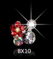 """Украшение Jewelry 3D """"Цветок"""" 8x8"""