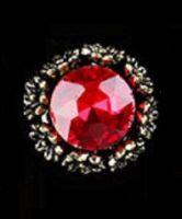 """Украшение Jewelry 3D """"Рубин"""" 12x12"""