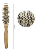 Термобрашинг для волос 25 мм. деревянная ручка