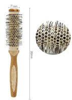 Термобрашинг для волос 35 мм. деревянная ручка
