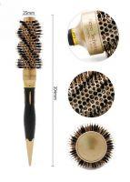 Термобрашинг для волос натуральная щетина Ceramic + Ion керамико-ионное покрытие d 25 мм