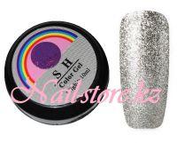 Гель-лак слюда #004 SH Professional Color gel 10мл. (серебро)