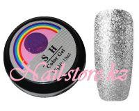 Гель-лак слюда #005 SH Professional Color gel 10мл. (серебро)