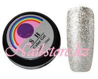 Гель-лак слюда #006 SH Professional Color gel 10мл. (серебро)