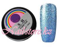 Жидкая гель-слюда #010 SH Professional Color gel 10мл. (синий)