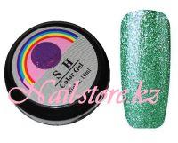 Гель-лак слюда #011 SH Professional Color gel 10мл. (зеленый)