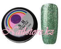 Гель-лак слюда #015 SH Professional Color gel 10мл. (зеленый)