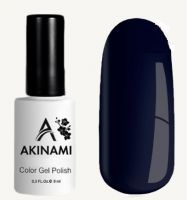 Гель-лак AKINAMI №158 Black Blue 9мл.