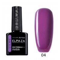 №004 Гель-лак ELPAZA Lilac Болеро 10мл.