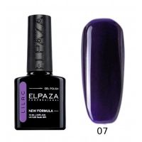 №007 Гель-лак ELPAZA Lilac Ультрамарин 10мл.