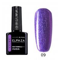 №009 Гель-лак ELPAZA Lilac Фиалковая роса 10мл.