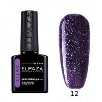 №012 Гель-лак ELPAZA Lilac Космический 10мл.