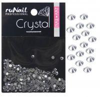 Cтразы (серебряный, 1,8 мм), 288 шт. Runail professional