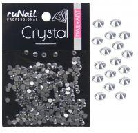 Cтразы (серебряный, 2 мм), 288 шт. Runail professional
