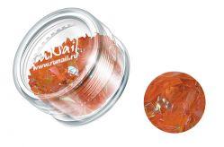 Дизайн для ногтей: слюда (светло-оранжевый)