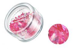 Дизайн для ногтей: слюда (розовый)