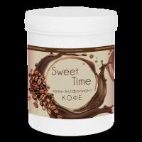 """Крем-эксфолиант """"кофе"""" Sweet Time 1л. DGP"""