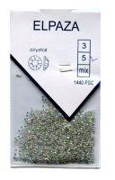 Стразы Crystal ELPAZA №02АВ серебряный голографик SS5, 1440 шт.