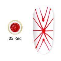 Гель-паутинка #05 Spider gel Red Canni (красный) 8мл.