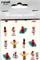 3D Слайдер-дизайн #4385 Runail Professional