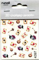 3D Слайдер-дизайн #4397 Runail Professional