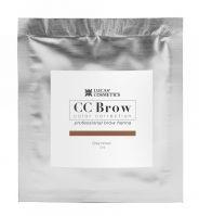 Хна для бровей CC Brow (grey brown) в саше (серо-коричневый, 5гр.) Lucas` Cosmetics