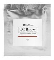 Хна для бровей CC Brow (brown) в саше (коричневый, 5гр) Lucas` Cosmetics