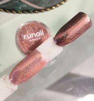 Зеркальная пыль для втирки с шиммером Runail professional (бронзовый) 1,5гр