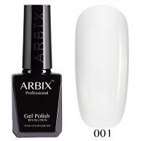 Гель-лак Arbix №001 Белый 10мл.