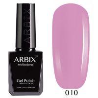 Гель-лак Arbix №010 Розовое Настроение 10мл.
