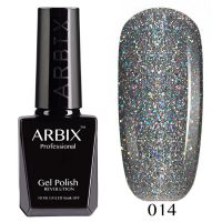 Гель-лак Arbix №014 Алмазное Сияние 10мл.