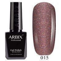 Гель-лак Arbix №015 Розовое Вино 10мл.